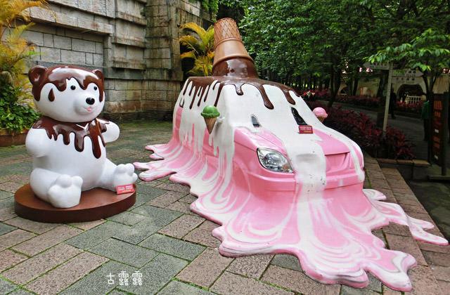 [南投展覽] 泰迪熊經典博覽會|九族文化村.泰迪熊纜車 遊日月潭