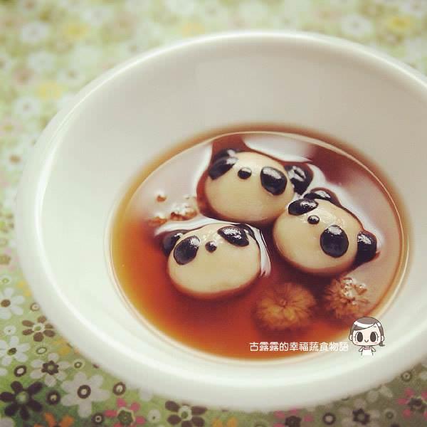 露露日常料理 ▌必學超萌料理「圓仔湯圓」