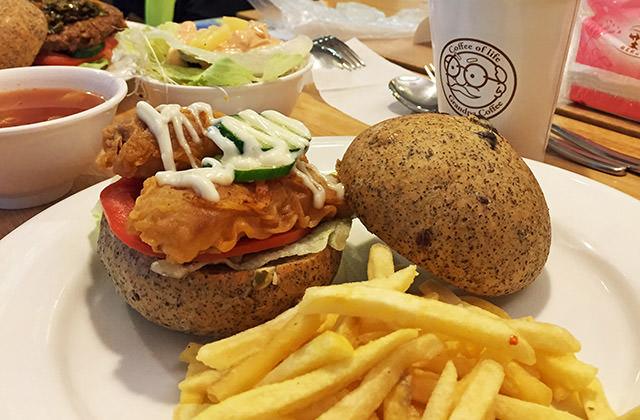 [台北] VeGeter維珍特|讓人興奮的素食界麥當勞 現身台北
