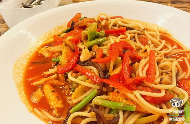 [新北] 唐果蔬食料理|中西日 異國料理手牽手 淡水美食 (已歇業