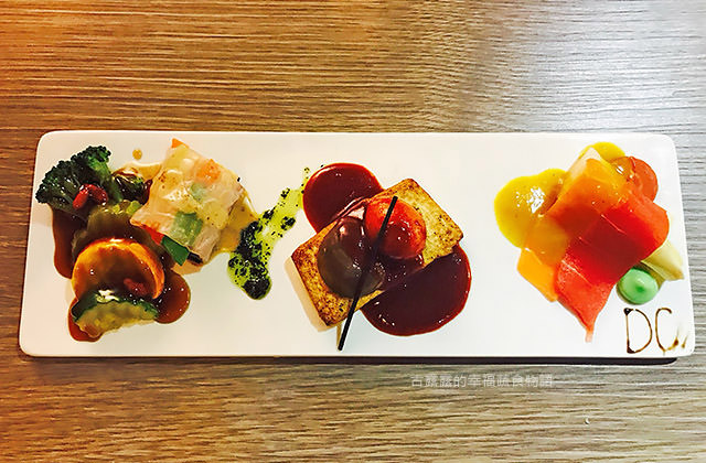 [高雄] DC蔬食餐廚-無菜單料理 特派員出差美食 跟著吃素就對啦!