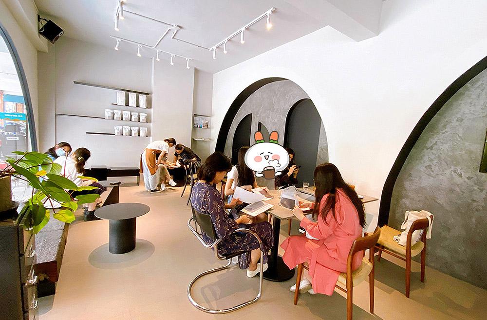 [新北] ANGLE II 北投不限時咖啡廳|黑白簡約時尚空間 不限時咖啡廳|石牌站