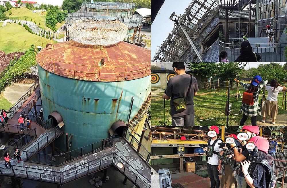 [台南景點] 十鼓仁糖文創園區|百年糖廠改建藝術村|大人版遊樂園 親子景點