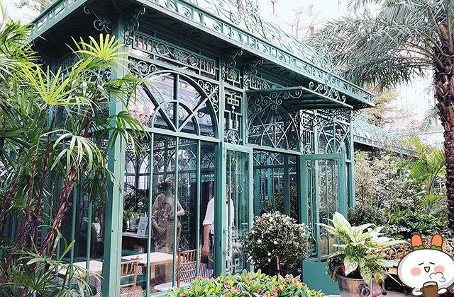 [台北] 極度浪漫 Super XOXO 浮誇歐風花園 夢幻玻璃屋 熱門IG打卡景點!大直甜點下午茶