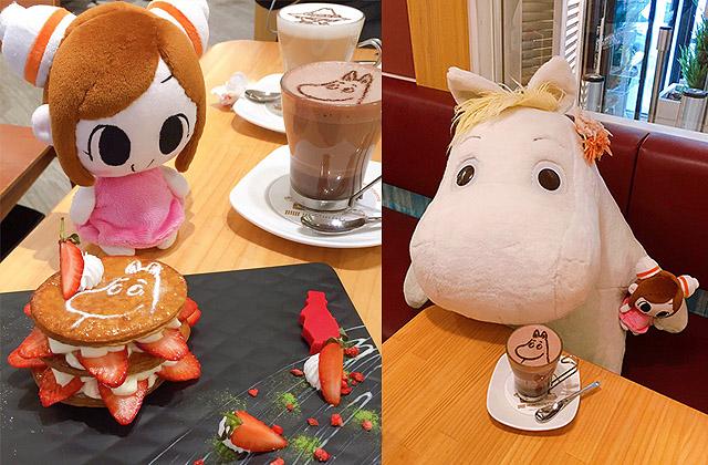 [台北] 要和可愛的嚕嚕米說再見… Moomin café 嚕嚕米主題餐廳