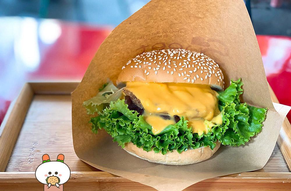 [新北] 高CP值好吃漢堡!G·burger 新北蘆洲店|蘆洲夜市 素食漢堡