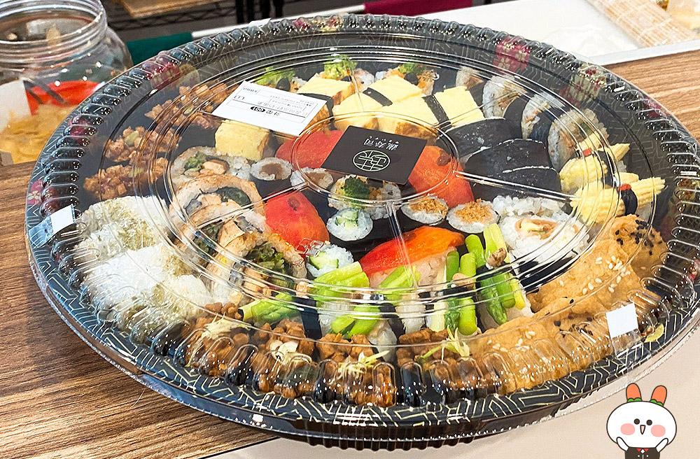 [台中] 來場華麗的壽司派對!蔬壽司 やさいずし|日式壽司料理|台中勤美