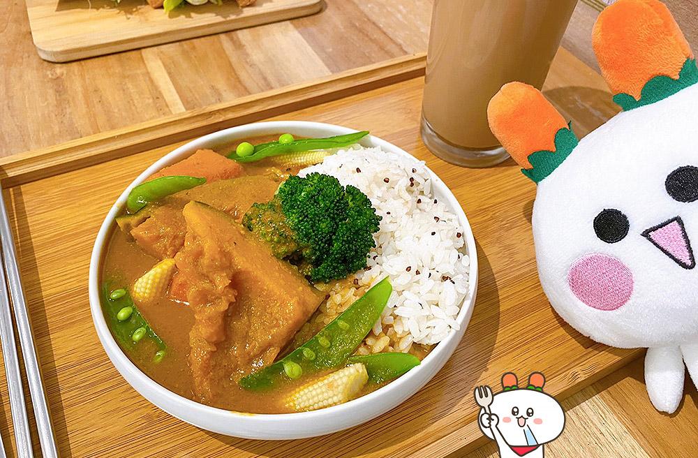 [台中] 文青必訪!半半食室 vegan daily|老宅風格 純素早午餐