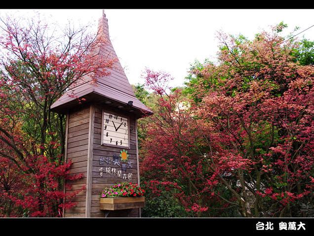 [台北] 陽明山奧萬大|楓葉紅囉~賞楓吃美食 (上-白天)