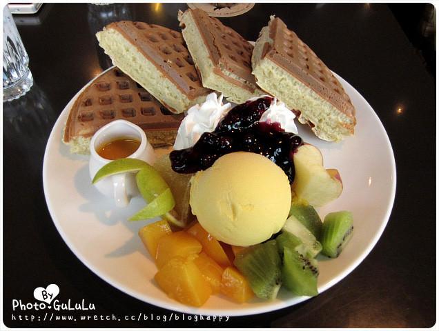 [台北] 士林咖啡弄 厚實飽滿鬆餅 東區也有分店 (葷素