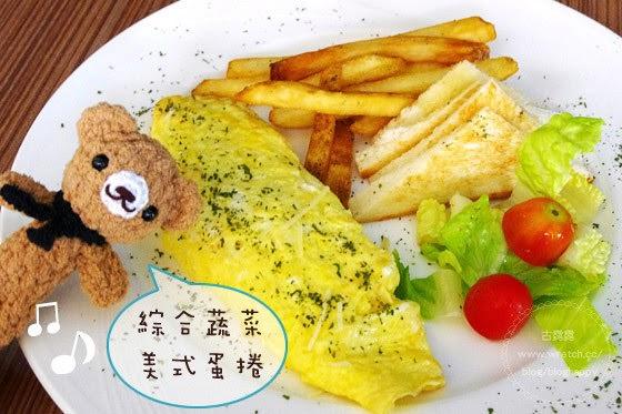 [台北] The Puck 帕客運動餐廳 現點現做美式蔬菜蛋捲 內湖 (葷素