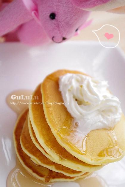 露露日常料理 ▌鬆餅粉做點心、鮮奶油蜂糖鬆餅、下午茶點心
